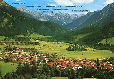 Alte Postkarte - Kurorte Hindelang - Bad Oberdorf/Allgäu