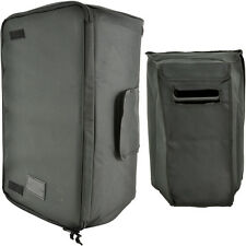 """10"""" Quality Padded Speaker Transit Carry Case/Bag-Outdoor Cover Zip Velcro DJ PA"""