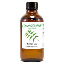 4 fl oz Neem Essential Oil (100% Pure & Natural) - GreenHealth