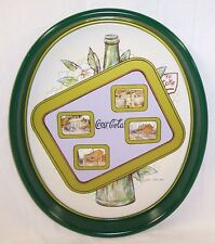 NEW 1989 COCA COLA ZANESVILLE HOLIDAY TRAY - SIGN BY LESLIE COPE NOS