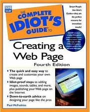 The Complete Idiot's Guide to Creating an HTML Web Page McFedries Paperback