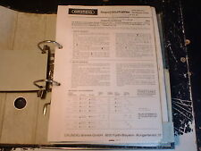 Grundig Service Manual HiFi Studio 8021, etc. 1 unidades escoger/choose 1 Piece