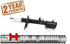 2 NEW REAR GAS SHOCK ABSORBERS FOR TOYOTA COROLLA E11 1997-2001 / GH 354552 /