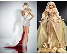 "2012 Barbie ""The Blonds Blond Diamond & Gold"" Barbie Dolls ~ Set of 2 ~"