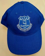 Official Everton Kids Royal and White crested Baseball Cap