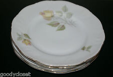 LOT OF 4 JAGN 24 BREAD AND BUTTER/DESSERT PLATES FLORA PATTERN BAVARIA GERMANY
