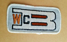 WCB UNKNOWN COMPANY PATCH ?TRUCKING?