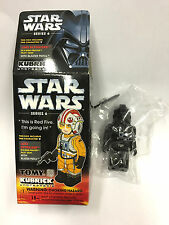 Kubrick 100 Star Wars Series 6 Tie Fighter Pilot New in Bag Medicom TOMY