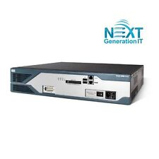 C2821-4SHDSL/K9 Cisco 2821 Bundle Router w/ HWIC-4SHDSL, SP Svcs, 128F/512D