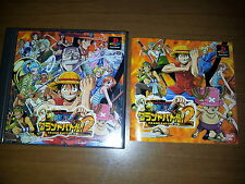 ONE PIECE GRAND BATTLE!2 SONY PLAYSTATION VIDEOGAMES B PS JAP JAPANESE PSX PS1