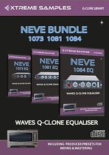 Xtreme Samples AMS Neve 1073 1081 1084 Bundle (Waves Q-Clone Library)