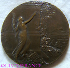 MED4418  - MEDAILLE COURAGE TRAVAIL PATRIE  - JOURNAL LE MATIN - FRENCH MEDAL