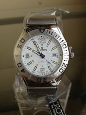 newstuffdaily: NIB CROTON Stainless Steel Men's Watch SRP $200