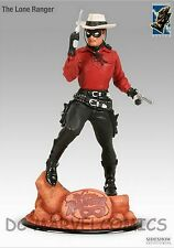 ELECTRIC TIKI SIDESHOW LONE RANGER RETRO RED Variant STATUE Maquette  #74/200