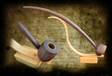 Lord of the rings inspired tobacco pipe 17 inchs long with display stand