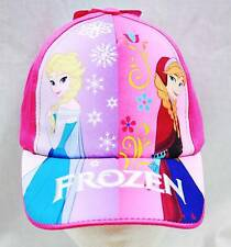 NWT Disney Frozen Baseball Cap Elsa and Anna -  Child Size Licensed by Disney