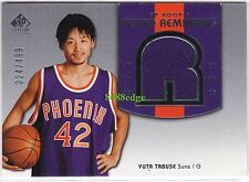 2004-05 SP SIGANTURE RETRO REMNANTS RC #140: YUTA TABUSE #/499 SUNS ROOKIE CARD