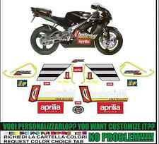 kit adesivi stickers compatibili  rs 125  chester biaggi 1995