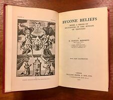 Bygone Beliefs, First Edition, Magic, Occult, Illustrated, Hardcover