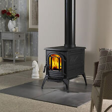Vermont Castings Aspen Classic Black Cast Iron Wood Stove Efficient Deep Narrow