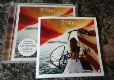 TRAIN A Girl A Bottle A Boat SIGNED Autographed CD PAT MONAHAN