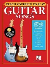 Guitar Songs - Come as You Are and 9 More Rock Hits (2016, Paperback)