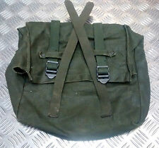 Genuine Vintage Swedish Army Canvas Battle Pack  M39  WWII Type / Pannier Bag