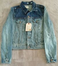 Denim Supply Ralph Lauren NEW Womens Denim Jean Jacket size Large NWT Two Toned