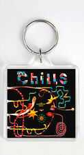 THE CHILLS - KALEIDOSCOPE WORLD LP COVER KEYRING LLAVERO