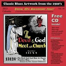 Various Artists-Classic Blues Artwork From The 1920S Calendar (2013) BOOK NEW