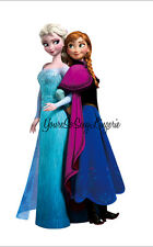 "ELSA & ANNA Disney FROZEN SISTERS Giant Wall Decal REMOVABLE STICKER 29"" Tall"