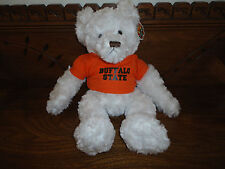 """Chelsea Teddy Bear Co. BUFFALO STATE College DEXTER 14"""" Licensed Product 2004"""