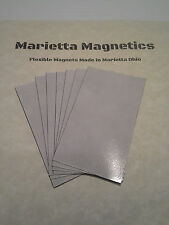 250 Self-adhesive Peel-and-stick Business Card Size Magnets.