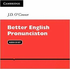Better English Pronunciation by J. D. O'Connor (2012, CD)