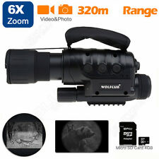 650D+ Night Vision Goggles Monocular IR Surveillance Camera Home Rifle Scope