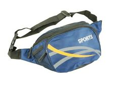 Mens Canvas Waist/Bum Bag By Sport New And Sealed Blue In Colour