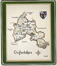 Oxfordshire - Britain in Stitches - Heritage Stitchcraft Chart New