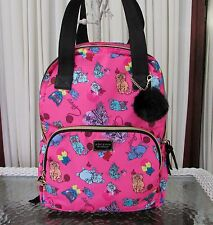 Betsey Johnson Cats Kittens Tote Backpack Bag Weekender Pink NWT $108