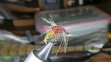 Spring Summer Czech Weighted Wire Woven Caddis Wet Fly Nymphs For Trout Grayling