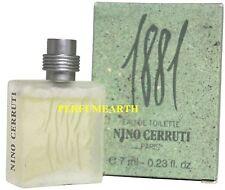 Nino Cerruti 1881 By Cerruti 0.23oz./7ml Edt Mini Splash For Men New In Box