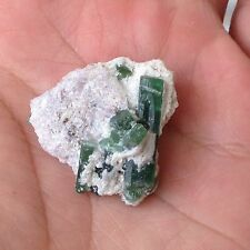 Beautiful Green Tourmaline Specimen (10gm) From Skardu Pakistan