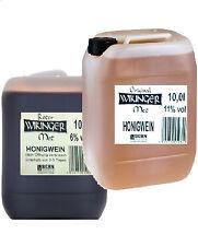 2 x 10 Liter Original Wikinger Met Rot und Kanister Honigwein Hell