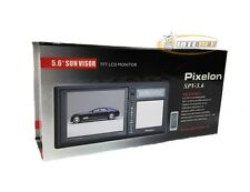 "Pixelon SPV-5.6 TFT LCD 5.6"" Sunvisor Monitor - Black *Closeout Item*"
