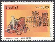 BRASILE 1991 Autopompa/veicoli di servizio di emergenza/soccorso/trasporto 1v (n26451)