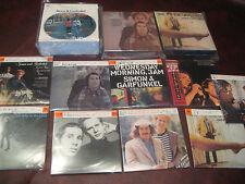 SIMON & GARFUNKEL JAPAN REPLICA LP'S IN A 2 BOX 9 OBI CD SET WITH BONUS BOX