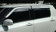 Fit For Suzuki Swift 2009-2011 White Weather Guard Rain Guard Door Visor