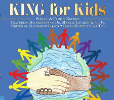 Martin Luther KING FOR KIDS Story School & Family Edition Audiobook 2 CDs 2 Hrs