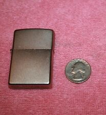 Vintage Zippo Lighter Silver Tone Bradford PA Made in USA Sparks A 13