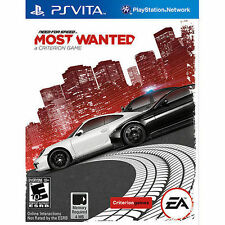 Need for speed: most wanted (Sony PlayStation Vita, 2012) - neuf scellé