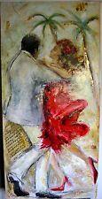 TAT VILÀ  - Oleo sobre tela 62 x129, Pareja de baile